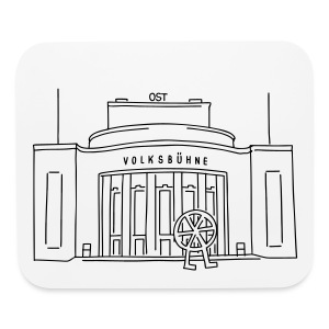 Volksbühne Berlin - Mouse pad Horizontal