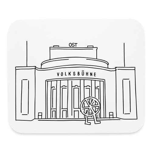Volksbühne Berlin - Mouse pad Horizontal