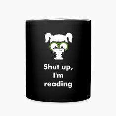 Shut up - I'm reading - smartphone addiction