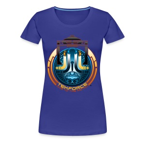 Ode to the Retro - Women's Plus Size T-Shirt - Women's Premium T-Shirt