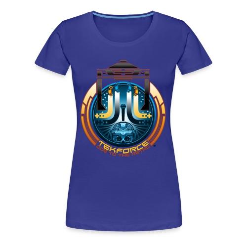 Ode to the Retro - Women's Plus Size T-Shirt - Women's Premium T-Shirt