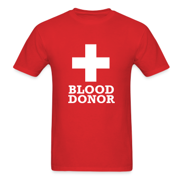 Blood Donor T Shirt Designs