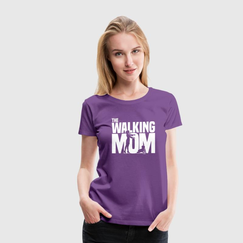 the walking mom Women's T-Shirts - Women's Premium T-Shirt