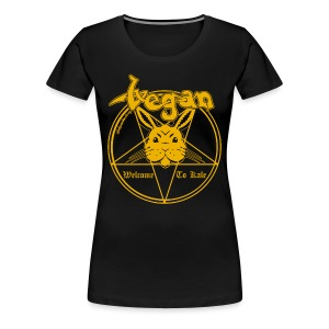 Welcome to Kale Slim Fit T-Shirt - Women's Premium T-Shirt