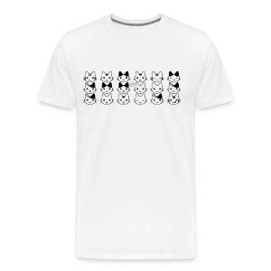 Greetings Kitty! - Men's Premium T-Shirt