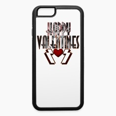 Happy Valentine DSS iPhone 6 Rubber Case