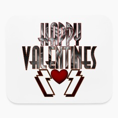 Happy Valentine DSS Mouse Pad