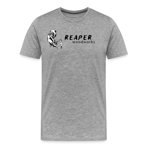 Mens Gray - Men's Premium T-Shirt