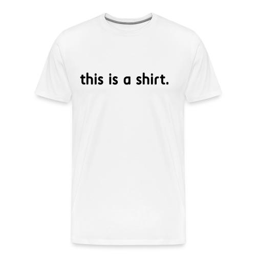 TI Collection - Printed T-Shirt - Men's Premium T-Shirt