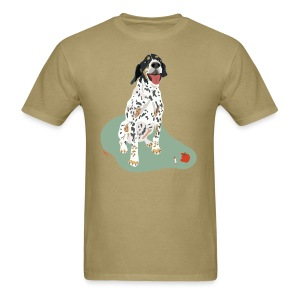 Men's Tee | Spotted Apple Eater Hound - Men's T-Shirt