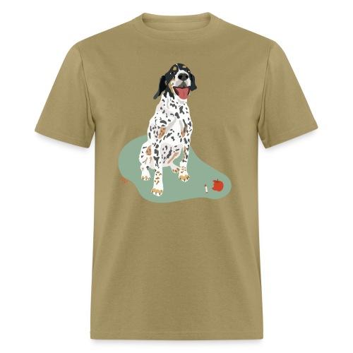 Men's Tee | Spotted Apple Eater Hound - Men's T-Shirt