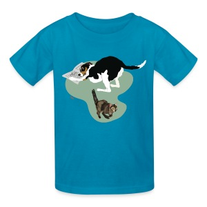 Kids' Tee | Cat Makes the News - Kids' T-Shirt
