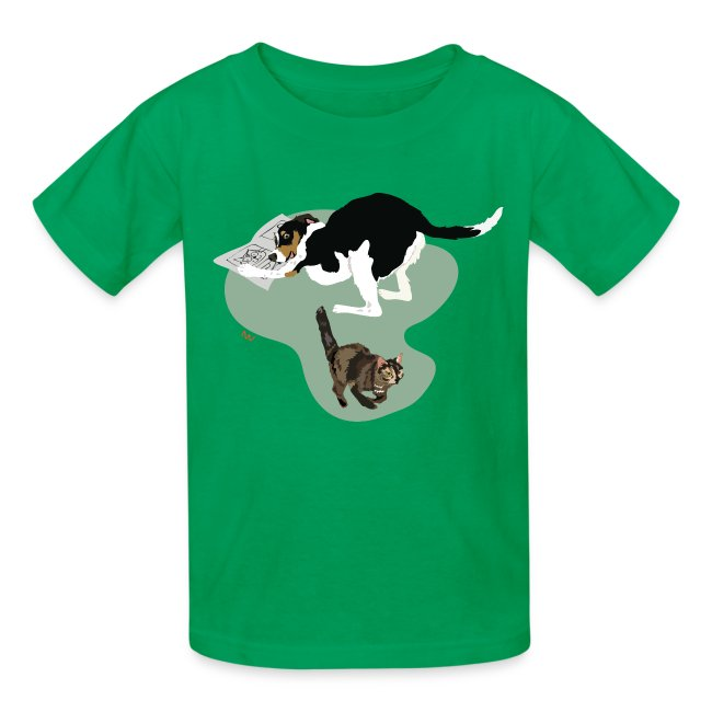 Kids' Tee | Cat Makes the News