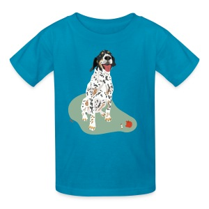 Kids' Tee | Spotted Apple Eater Hound - Kids' T-Shirt