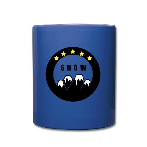 Snowboard Mugs & Drinkware - Full Color Mug