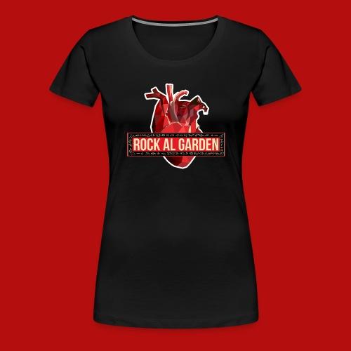 Rock al Garden logo girls - Women's Premium T-Shirt