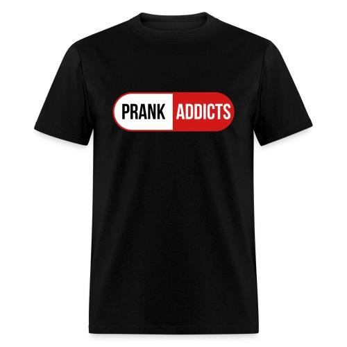 Men's   Red, White & Black Logo - Men's T-Shirt