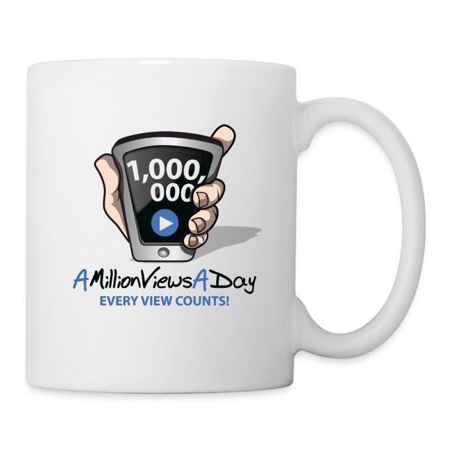 AMillionViewsADay Coffee Mug