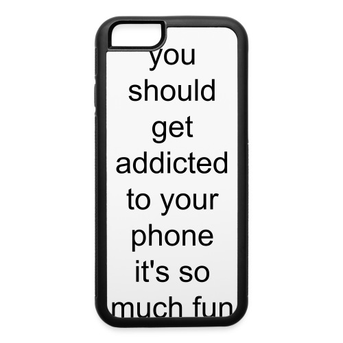 oliverhb addicted phone case - iPhone 6/6s Rubber Case