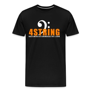[mens] I Am Bass Series - 4 String Bass T-Shirt - Men's Premium T-Shirt