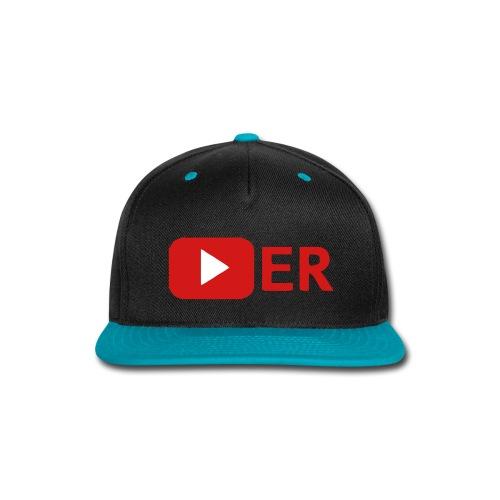 Youtuber Cap - Snap-back Baseball Cap