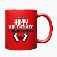 Happy Valentine DSFRL Full Color Mug