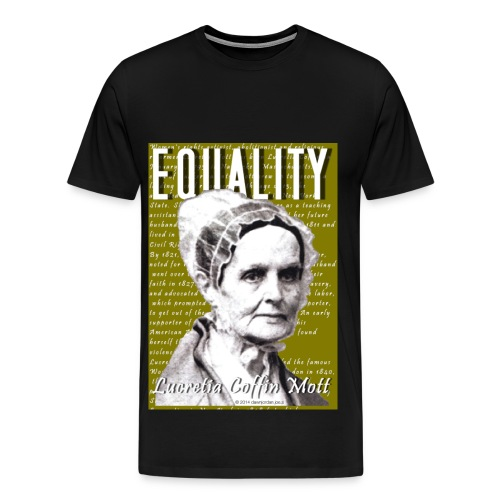 Lucretia Coffin Mott Classic - Men's Premium T-Shirt