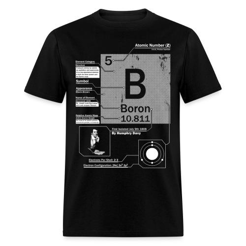 Boron B 5 Element t shirt - Men's T-Shirt
