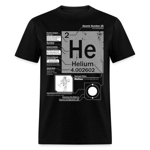 Helium He 2 Element t shirt - Men's T-Shirt