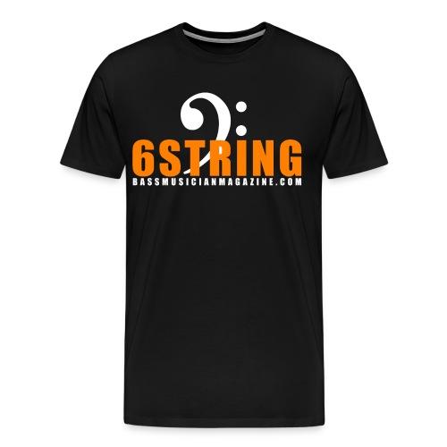 [mens] I Am Bass Series - 6 String Bass T-Shirt - Men's Premium T-Shirt
