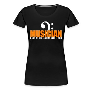 [womens] I Am Bass Series - Bass Musician T-Shirt - Women's Premium T-Shirt