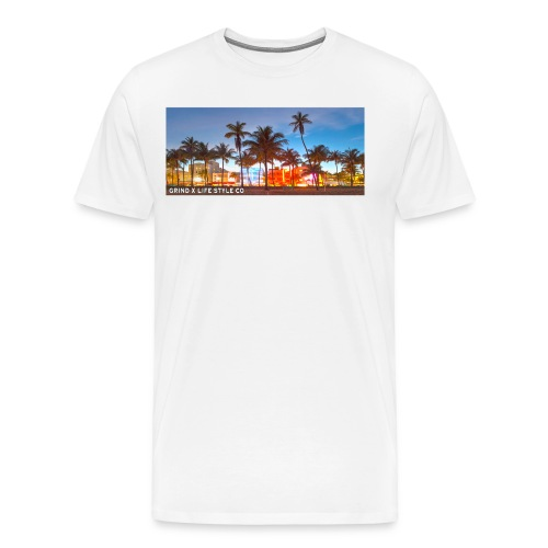 GRIND X LIFE STYLE TEE - Men's Premium T-Shirt