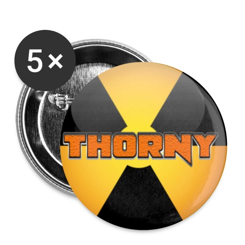 Thorny is a Bio Hazard - Small Buttons