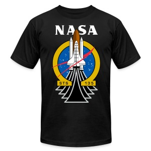 NASA The Final Voyage t shirt - Men's T-Shirt by American Apparel
