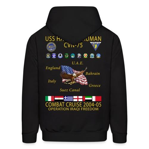USS HARRY S TRUMAN 2004-05 COMBAT CRUISE HOODIE - Men's Hoodie