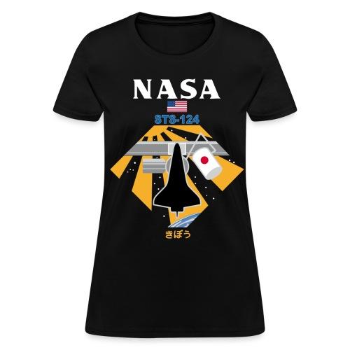 NASA STS-124 t shirt - Women's T-Shirt