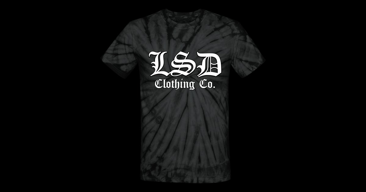 4c0c3243629c LSD Clothing Co. Mens T Shirt (Old English Tie Dye)