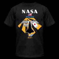 T-Shirts ~ Men's T-Shirt by American Apparel ~ NASA STS-124 t shirt