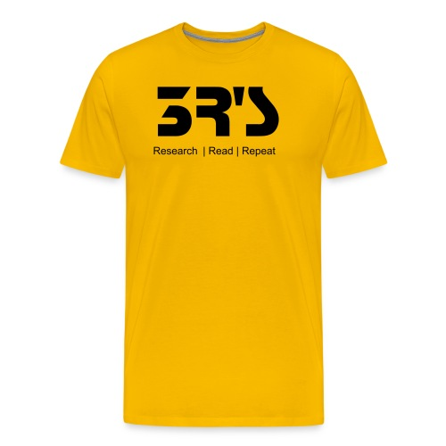 3R's Do It - Men's Premium T-Shirt