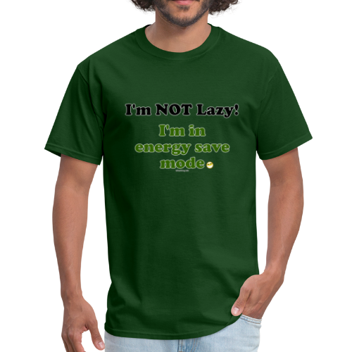 Men's Standard T- Energy Save (Front) - Men's T-Shirt