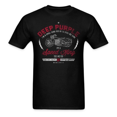 Deep Purple Speed King Sample Tee - Men's T-Shirt