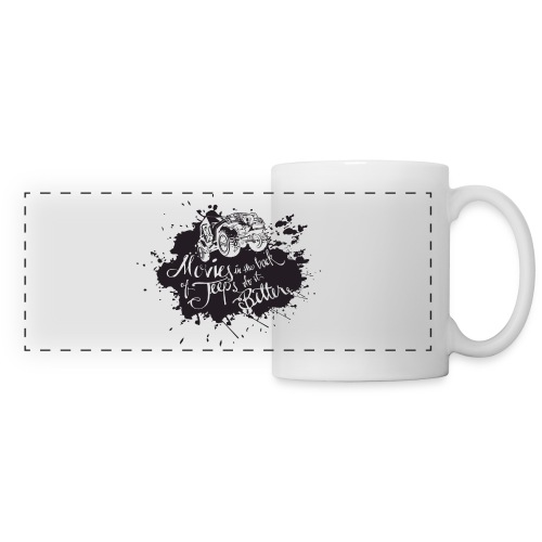 Movies in Jeeps do it better - Panoramic Mug