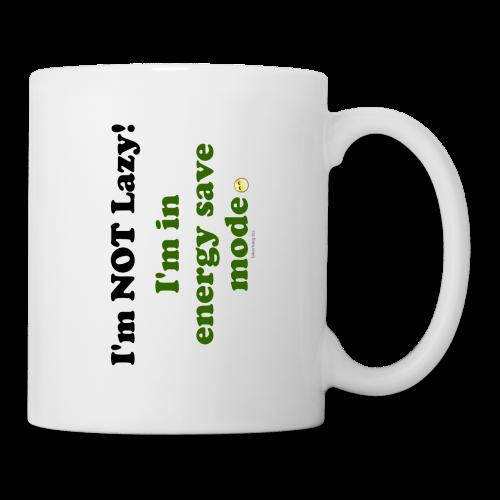 Coffee/Tea Mug- Energy Save (one side) - Coffee/Tea Mug