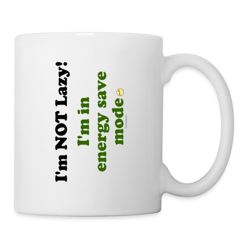 Coffee/Tea Mug- Energy Save (one side) - Coffee/Tea Mug