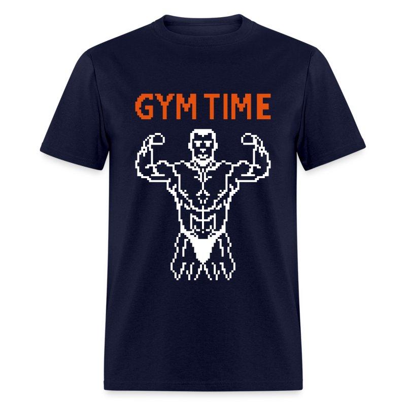 Gym Time Pixelart T Shirt Spreadshirt