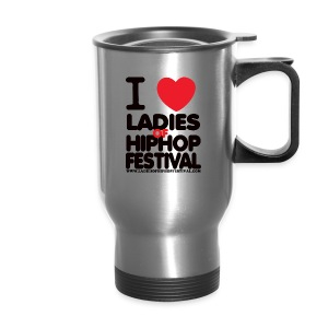 Ladies of Hip-Hop Hoodie Love - Travel Mug