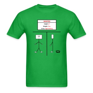 Wanted Stick - Men's T-Shirt