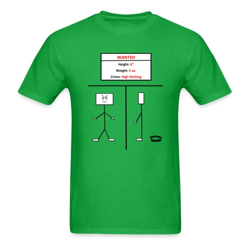 Wanted Stick - Men's T-Shirt