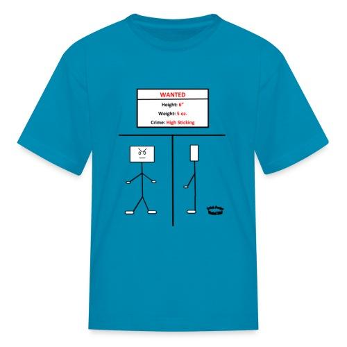 Wanted Stick - Kids' T-Shirt