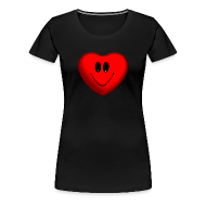 T-Shirts ~ Women's Premium T-Shirt ~ Happy Heart Women's Premium T-Shirt
